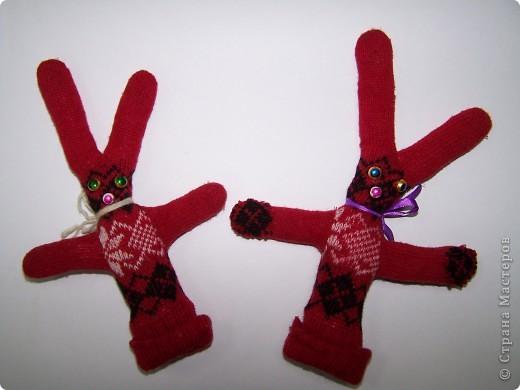 Кролики из перчаток фото 2