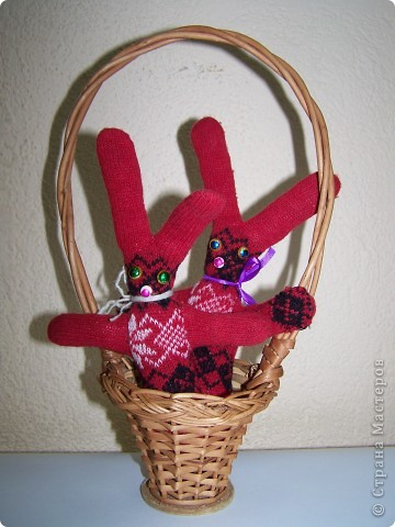Кролики из перчаток фото 1