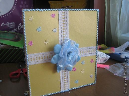 Мои первые открытки фото 3