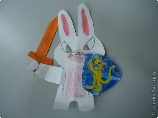 Заяц - подвижная игрушка фото 2