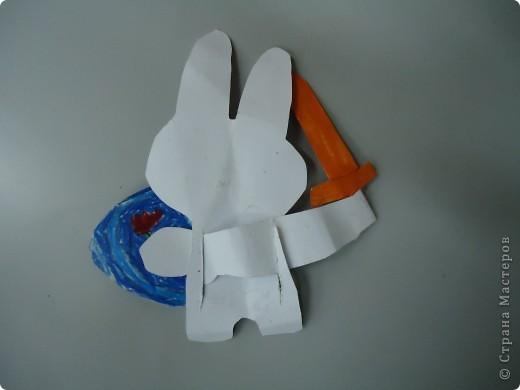 Заяц - подвижная игрушка фото 3