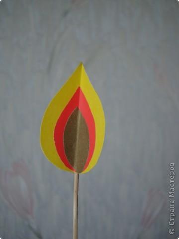 Вот такая свеча получилась из журнала. фото 7