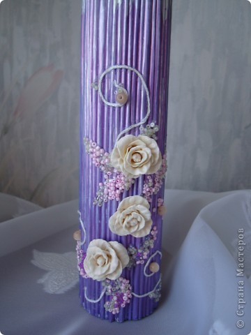 Вот такая свеча получилась из журнала. фото 6