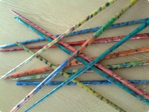 Вот такие палочки получились у нас))) фото 2