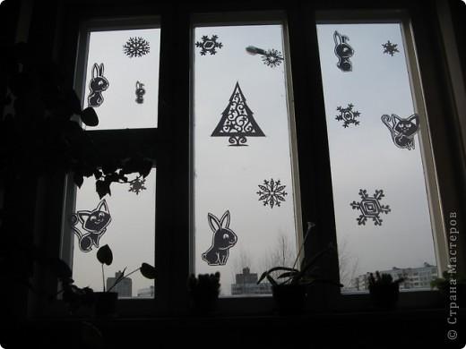 Вот такие новогодние поделки уже украшают наш класс. фото 10
