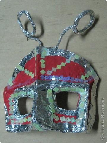 Эта маска выполнена мной в качестве образца для работы с детьми. Все остальные - детьми 4 класса. В них они будут танцевать. фото 2