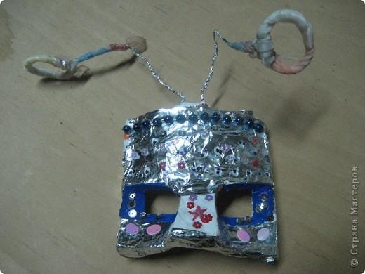 Эта маска выполнена мной в качестве образца для работы с детьми. Все остальные - детьми 4 класса. В них они будут танцевать. фото 6