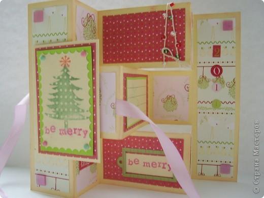Давненько я ничего не выкладывала :). Вот новая порция новогодних открыток. Первая - серебристо-снежная.  Серебристая цветная бумага, бумага для пастели, веллум, и много разных штампиков... фото 3