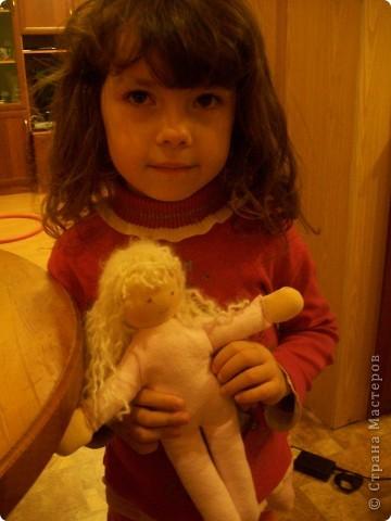 первая кукла в стиле вальдорфской