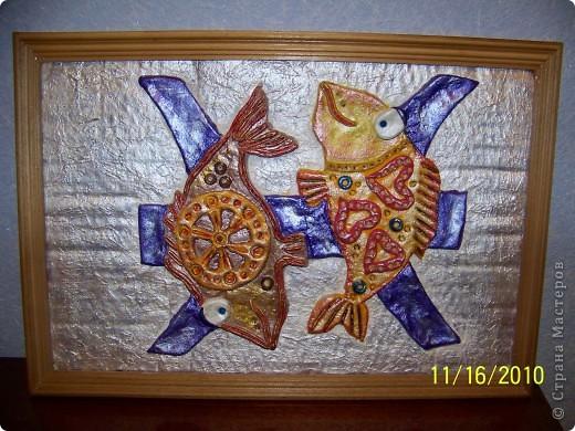 Моя сотрудница по знаку зодиака Рыба и вот такой подарочек я ей подготовила. фото 1