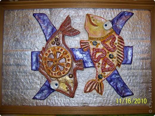 Моя сотрудница по знаку зодиака Рыба и вот такой подарочек я ей подготовила. фото 2