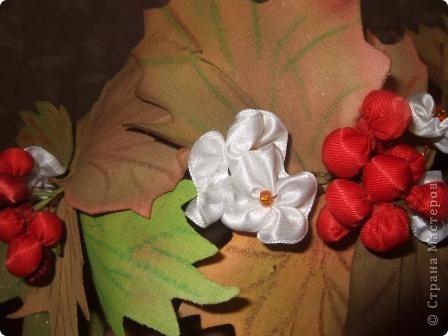 """Веночек """"Калинки"""" для праздника  """"Осени"""" в детский сад. фото 4"""