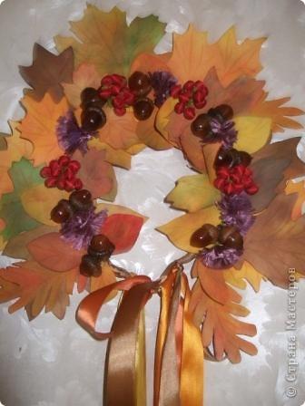 Веночек для Осени фото 1