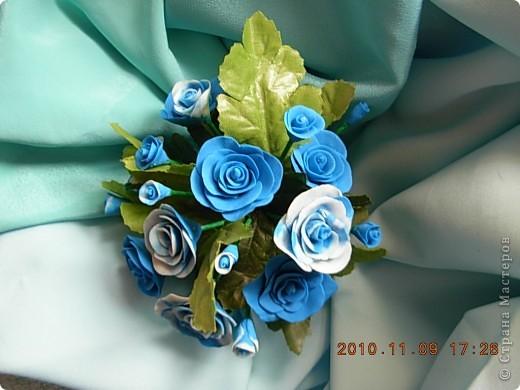 розы из холодного фарфора фото 4