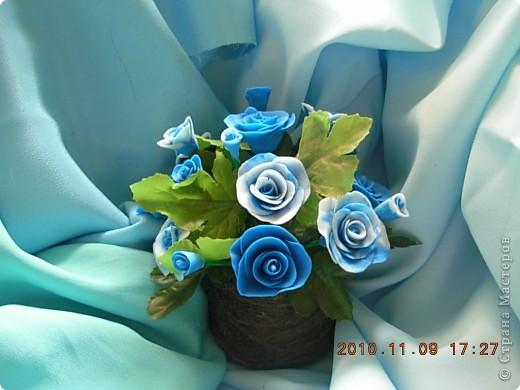 розы из холодного фарфора фото 3