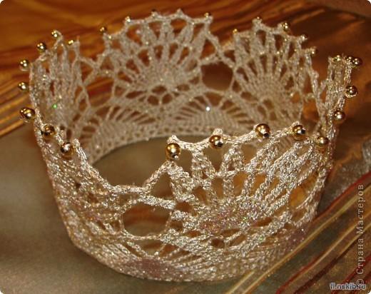 Такую красивую корону нашла в инете фото 1