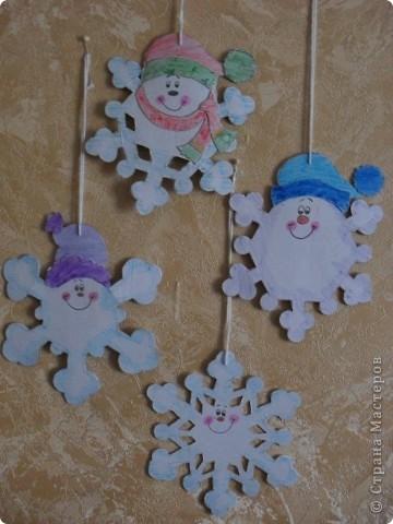 веселые снежинки фото 1