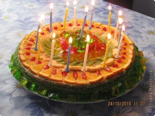 Тортик сынульке  на полтора годика ! фото 2