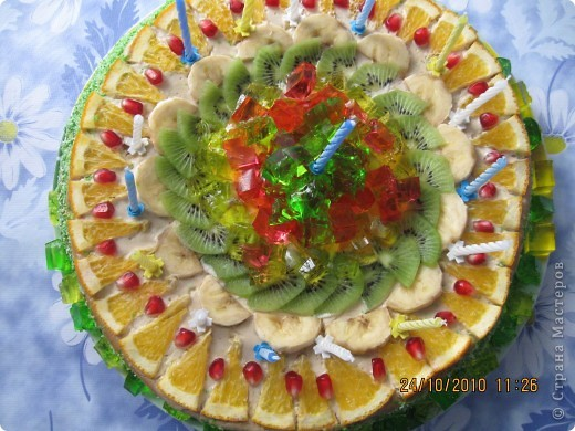 Тортик сынульке  на полтора годика ! фото 1