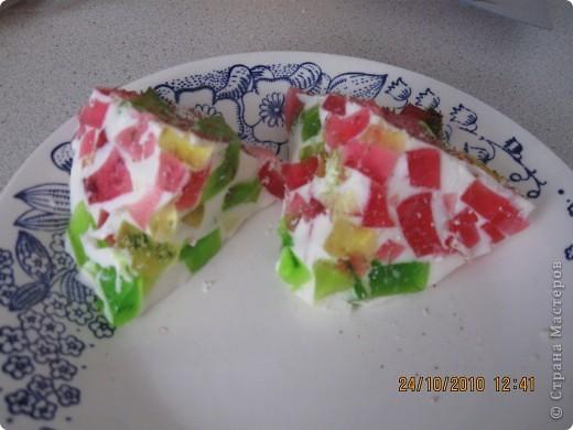 """Желейный тортик""""Самоцветы"""". фото 2"""