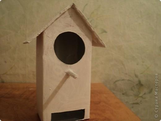 Захотелось и мне смастерить свой чайный домик. Порылась на сайтах и увидела домик из под коробки под сока. Вот что из этого получилось. фото 3