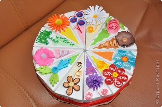 Мой сюрпризный торт)