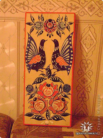 Мезенская роспись. фото 2