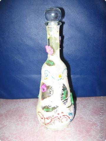 бутылочки украшенные нашими детками фото 2