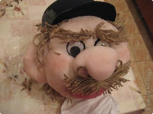 Это моя вторая кукла, зовут его Митрофаныч. Первую куклу -Матрену можно увидеть здесь https://stranamasterov.ru/node/66000 фото 2