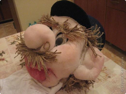 Это моя вторая кукла, зовут его Митрофаныч. Первую куклу -Матрену можно увидеть здесь https://stranamasterov.ru/node/66000 фото 3