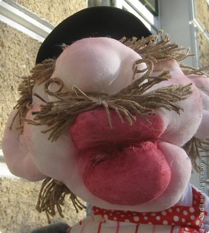 Это моя вторая кукла, зовут его Митрофаныч. Первую куклу -Матрену можно увидеть здесь https://stranamasterov.ru/node/66000 фото 6