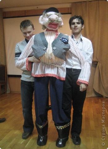 Это моя вторая кукла, зовут его Митрофаныч. Первую куклу -Матрену можно увидеть здесь https://stranamasterov.ru/node/66000 фото 1