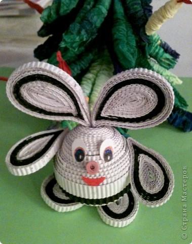 Зайчишка беленький фото 1