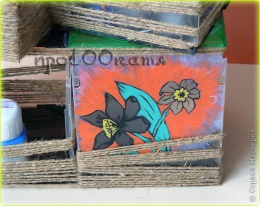 """Долго мучила коробочки от дисков и,наконец-то, """"домучила""""!  фото 4"""
