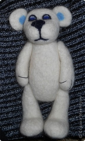"""""""Зимний мишка"""", высота 17 см. фото 1"""