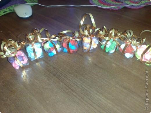 Подарочные коробочки на елку! фото 1