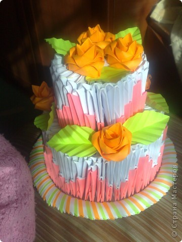 Тортик и чайный набор фото 1