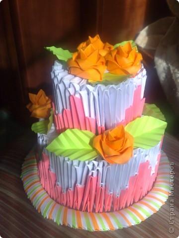 Тортик и чайный набор фото 2