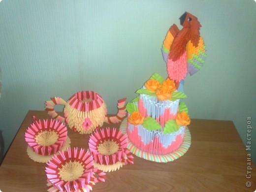 Тортик и чайный набор фото 3