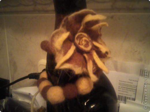 Ваниль и корица- набор валялочных украшений фото 1