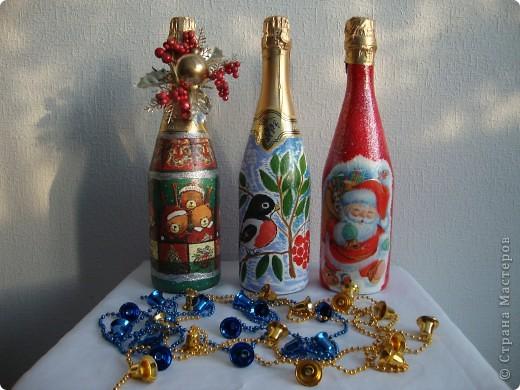 Новогодний декупаж фото 1
