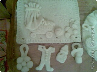 Соленое тесто картина фото 2