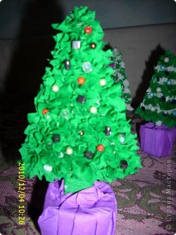 Вот таких елочек я наделала для подарков. фото 6