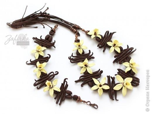 Всем привет =) Это моя вторая попытка слепить цветы ванили - немного более удачная =) фото 2