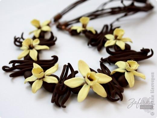 Всем привет =) Это моя вторая попытка слепить цветы ванили - немного более удачная =) фото 1