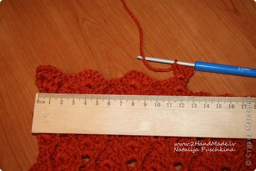 Болеро крючком - МК фото 5
