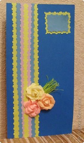 Идея открытки взята из страны мастеров. МК птичек - http://stranamasterov.ru/node/20234?c=favorite фото 8