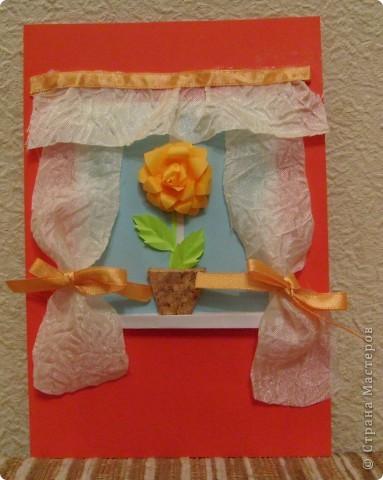 Идея открытки взята из страны мастеров. МК птичек - http://stranamasterov.ru/node/20234?c=favorite фото 9