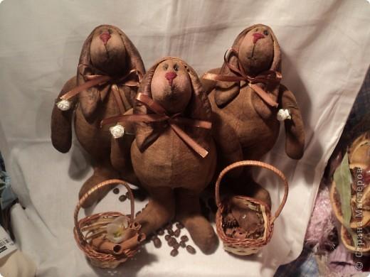 Грустный шоколадный заяц фото 2