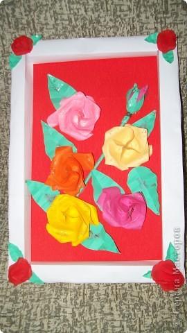 картина из роз фото 3